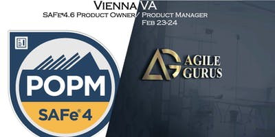 SAFe® 4.6 Product Owner Product Manager (POPM) Certification (Vienna)