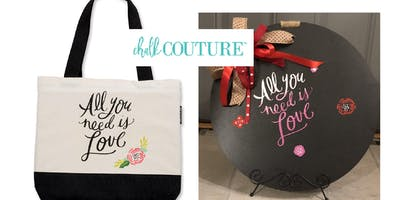 Chalk Couture - All you need is love design