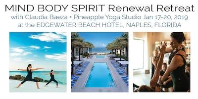 MIND BODY SPIRIT Renewal Retreat at Edgewater Beach Hotel, Naples with Pineapple Yoga Studio