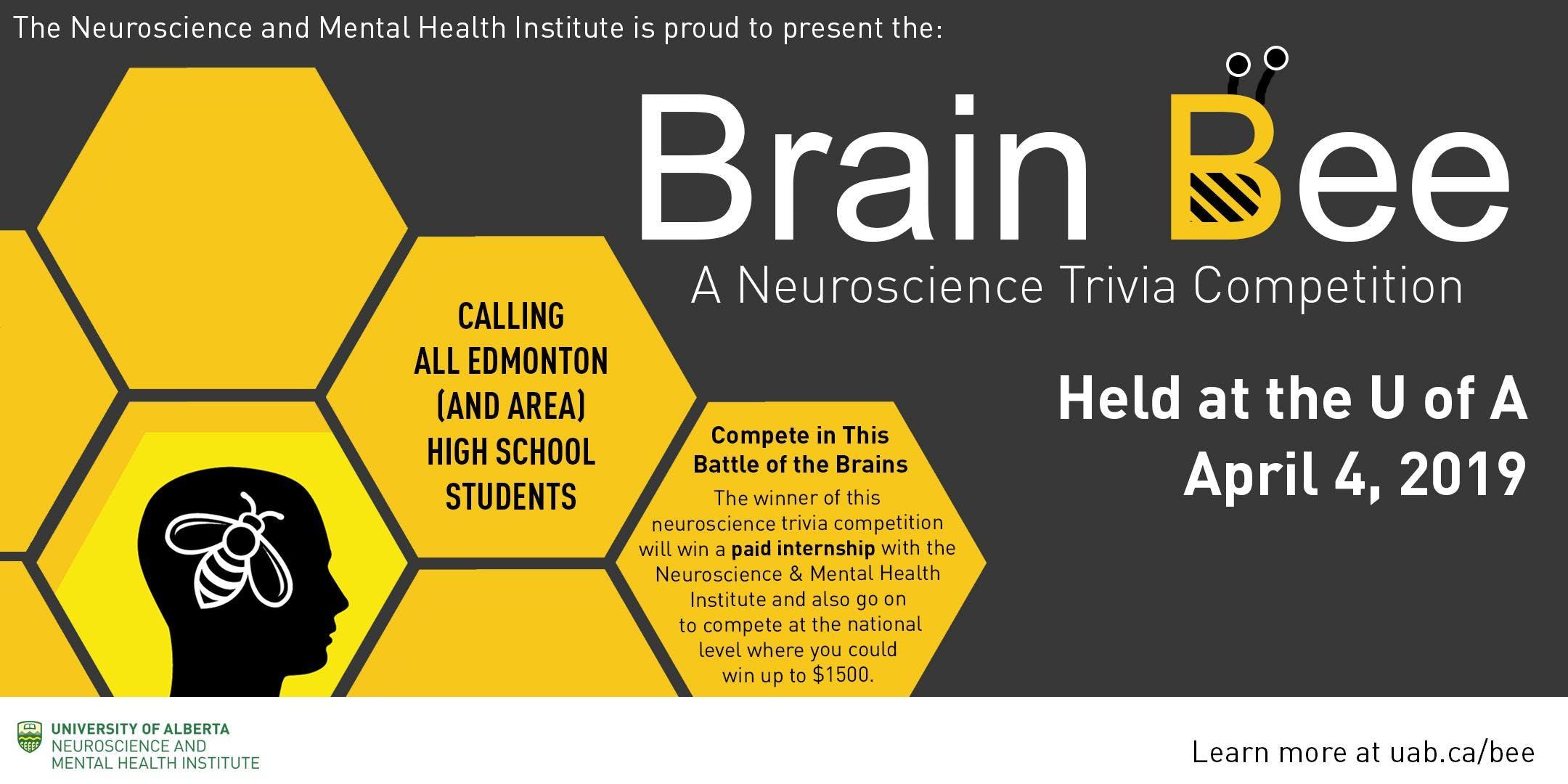 Edmonton Brain Bee 2019