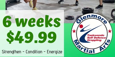 High-Intensity Fitness Circuit Training Program