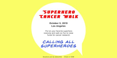 Superhero Cancer Walk tickets