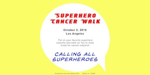 Superhero Cancer Walk