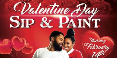 Valentin's Day Sip & Paint Dinner for 2!