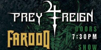 Prey 4 Reign, Farooq; St. Patrick's Metal at Fulton 55
