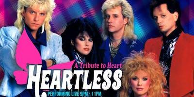 Retro Junkie presents HEARTLESS (Heart Tribute) + resident DJ Darker Daze