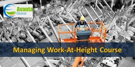 Managing Work-At-Height Course tickets