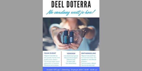 Share dōTERRA 23 november 2019 tickets