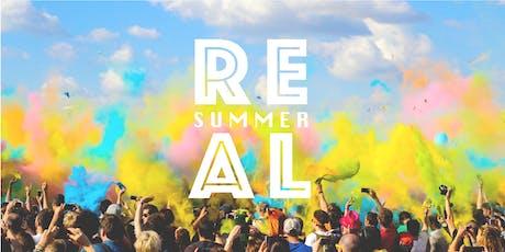 REAL Summer 2019 tickets