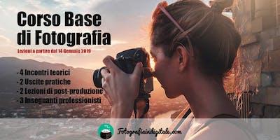 Corso Base di Fotografia a Roma