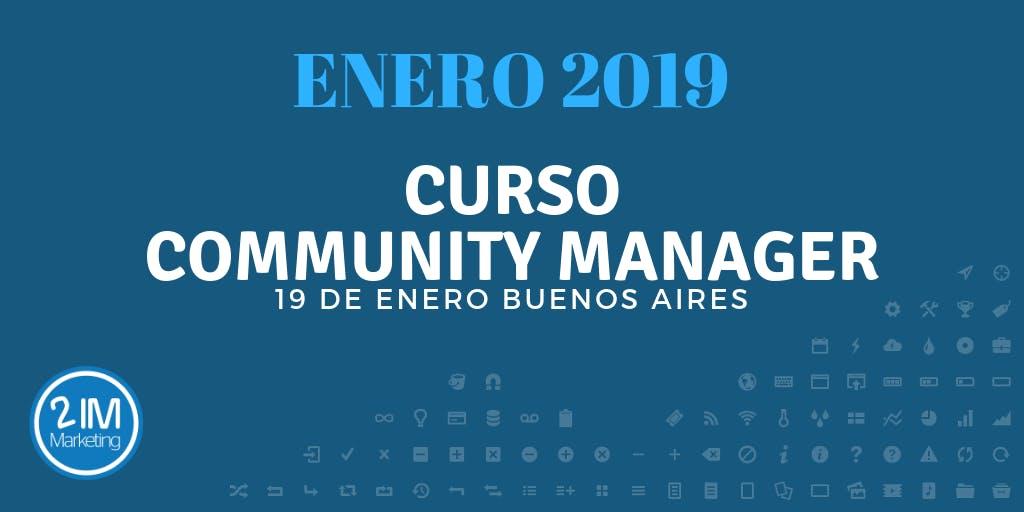 Cursos de Community Manager en Buenos Aires