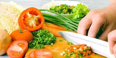 Lieblingsküchen-Kochkurs (verschiedene Themen je Datum) Tickets