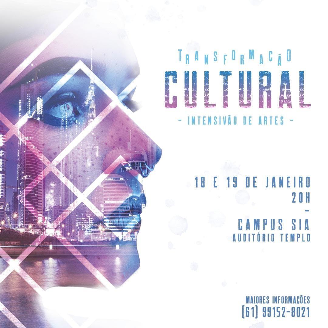 Transformação Cultural - Intensivão de Artes