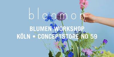 bloomon Workshop 15. Februar | Köln, No59 Conceptstore