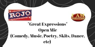Great Expressions Open Mic