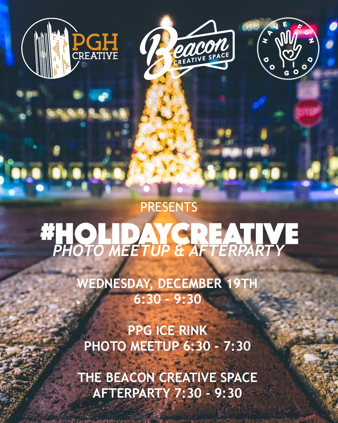 #HolidayCreative Photo Meetup & Afterparty