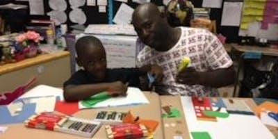 Doing Art Together, TMALS Parent/Child Art Series