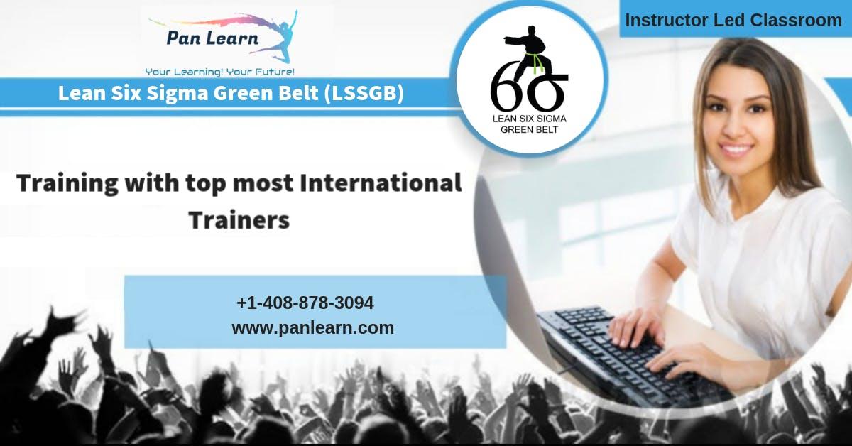 Lean Six Sigma Green Belt (LSSGB) Classroom Training In Las Vegas, NV