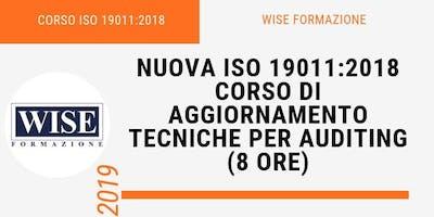 La nuova ISO 19011:2018 - Tecniche per Auditing di Sistemi di gestione