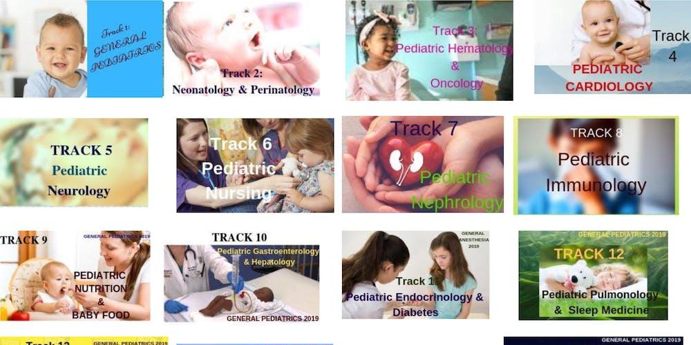 21st World Congress on Pediatrics & Adolescent Medicine Tickets, Wed