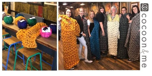 Arm Knit Blanket Workshop -Lewes
