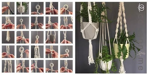 Macrame Plant Hanger Workshop  - Chichester