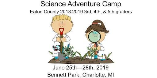 Science Adventure Camp 2019