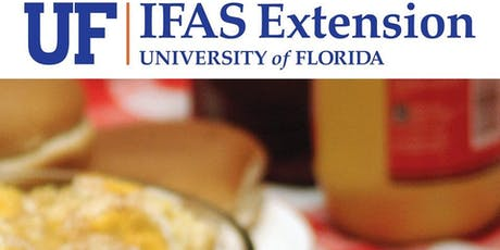 Food Safety for Extension events, fund raising or concessions (4-H and FCS) Sarasota County tickets