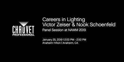 Careers in Lighting Panel with Victor Zeiser, Bobby Grey and Nook Schoenfeld - Sponsored by CHAUVET Professional