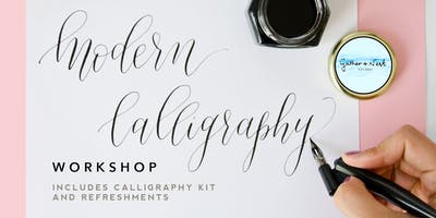 Beginner Calligraphy Workshop with Gather + Nest Studio