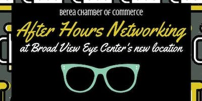 After Hours Networking at Broad View Eye Center