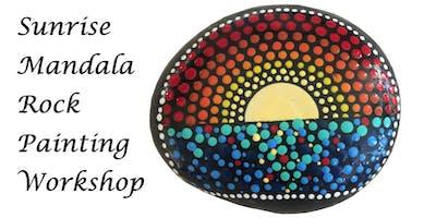Sunrise Mandala Rock Painting Workshop