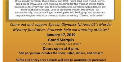 Area 05 Special Olympics NJ Murder Mystery Fundraiser
