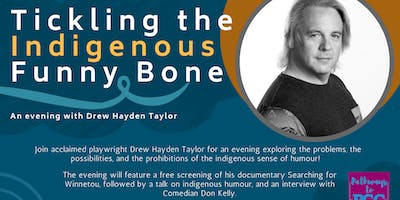 Tickling the Indigenous Funny Bone: An Evening With Playwright Drew Hayden Taylor
