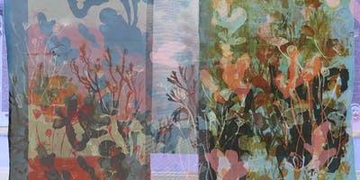 Screen Printing with Dyes on Fabric: 2 Day Workshop