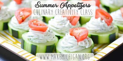 Summer Appetizers Class - Dorr