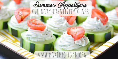 Summer Appetizers Class - Dorr tickets