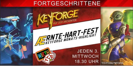 KeyForge Monats-Highlight: Ærnte-Hart-Fest Tickets