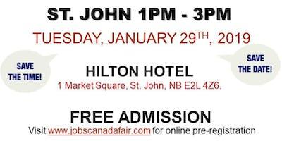 Saint John Job Fair - January 29th, 2019