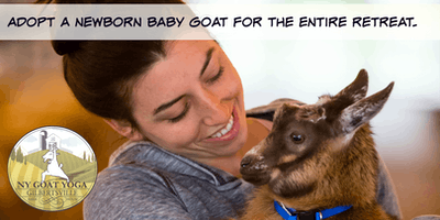 BABY-GOAT & ME Glamping Retreat - All Inclusive for (2)Two People