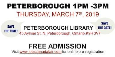 Peterborough Job Fair - March 7th, 2019