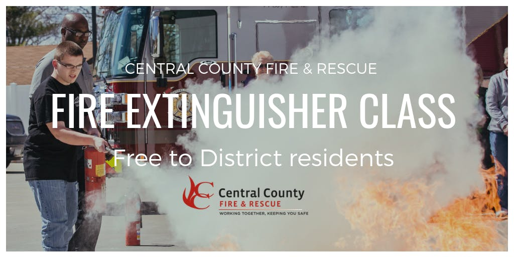 March 20 Fire Extinguisher Class