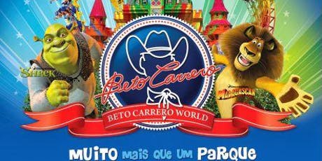 FDS Beto Carrero Word R1 Tickets