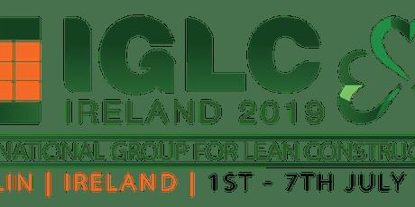 IGLC 2019 tickets
