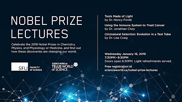 Nobel prize lectures image
