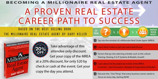 Becoming A Millionaire Real Estate Agent - A Proven Career Path to Success