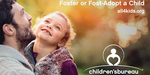 Foster or Foster-Adopt a Child Info Meeting Oct. 26