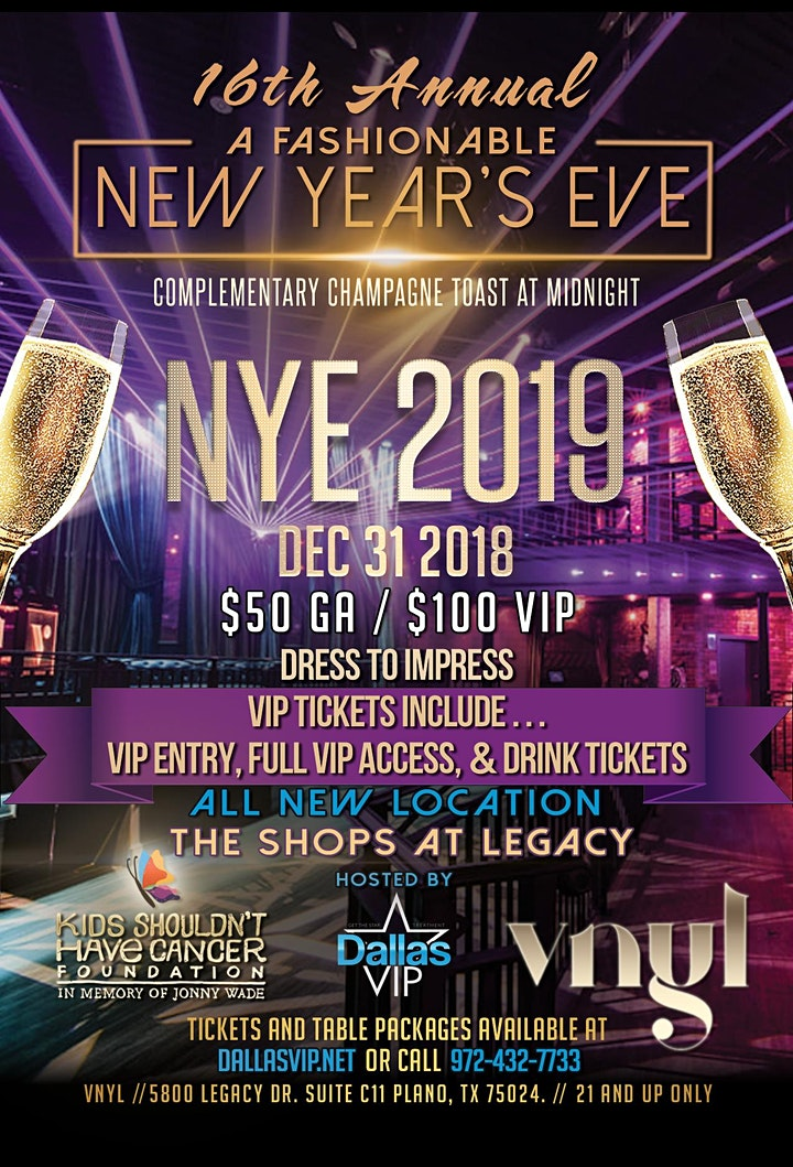 A Fashionable New Years Eve 2019 image
