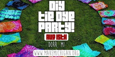 DIY Tie Dye - Dorr