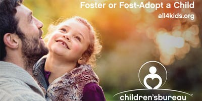 Foster or Foster-Adopt a Child Info Meeting Oct. 12